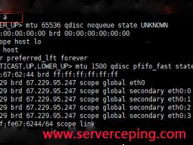 linux自动添加IP,批量添加ip,比如添加/24到linux服务器