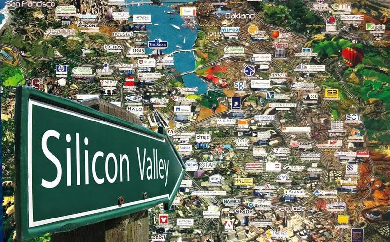 美国硅谷科技公司