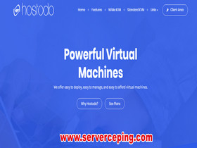 hostodo-美国拉斯维加斯vps测评,亚洲优化cn2线路,月付2.99美金