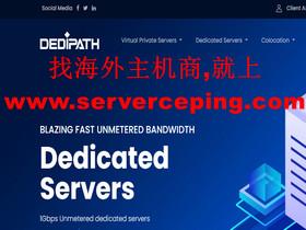DediPath –无论vps还是独立服务器,折扣50%优惠码续费同价